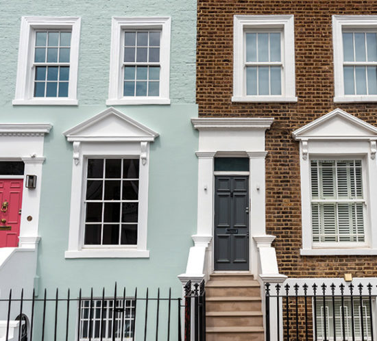 A row of terraced houses - Rockland Insurance Brokers
